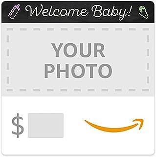 Amazon eGift Card - Upload Your Photo - Baby Chalk