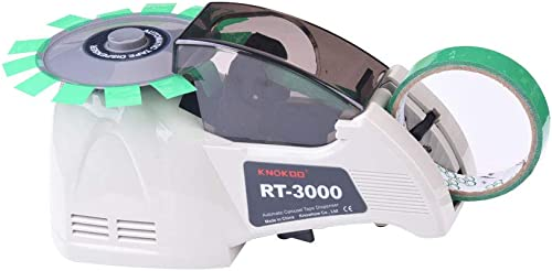 popular Automatic Tape Dispenser RT-3000, KNOKOO Electric Tape sale Dispenser outlet sale Machine, Electronic Packing Tape Cutter for 5-25mm Width Tape sale