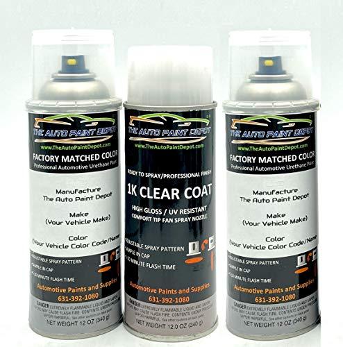 Auto Paint Depot Touch Up Paint for Cadillac ATS, CTS, Escalade, XTS-White Diamond Pri Metallic Tricoat 98/WA800J/GBN (All Years) 12oz Aerosol Spray