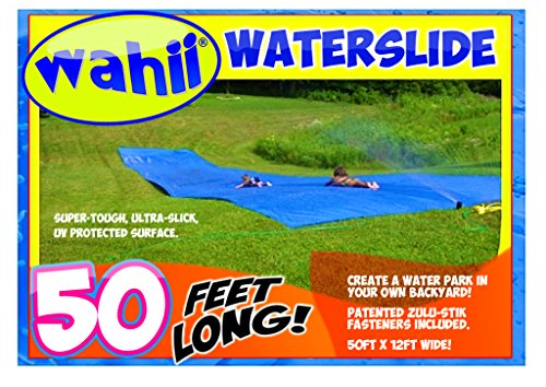 Product Image of the Wahii Waterslide 50' x 12' - World's Biggest Backyard Lawn Water Slide