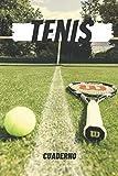 Tenis Cuaderno: Notebook para Escribir | Regalo de Tenis para el Jugador de Tenis / Perfecto para Escribir sus Pensamientos