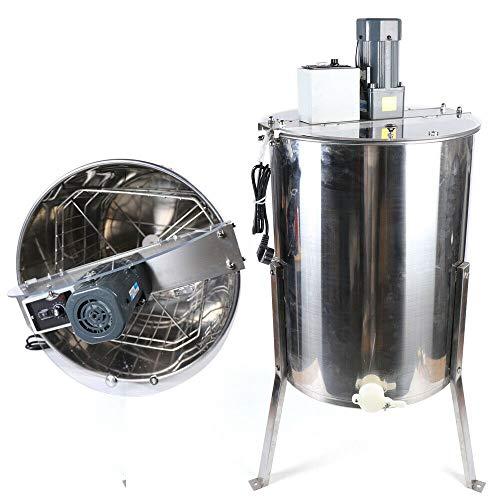 Extractor de miel eléctrico, 40 pulgadas, 4 marcos, acero inoxidable, extractor de miel, apicultor, 220 V, 120 W