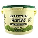 ARGILE VERTE MONTMORILLONITE - 2.5 KG