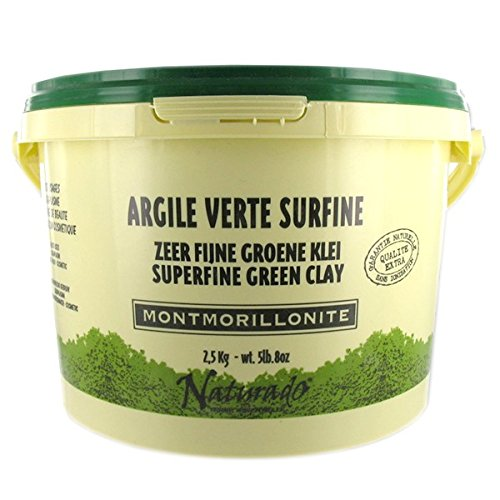 Naturado - Argile Verte Usages Multiples 2,5kg Naturado