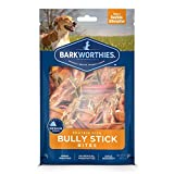 Barkworthies Protein-Rich Bully Stick Bites (10oz. Bag) - All-Natural Rawhide Alternative - Highly