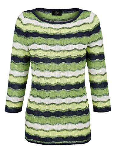 Paola Damen Pullover Grün 48 Kunstfaser