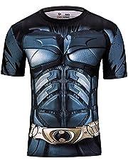 Cody Lundin Hombres Superhero Movie Fashion manga corta en plein air Style Party Functional Shirt