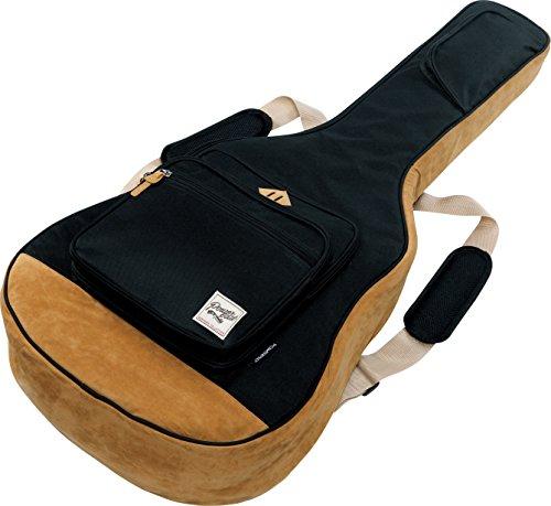 Ibanez アコースティック・ギター/エレアコ・ギター用 ケース 保護クッション装備 IAB541-BK ブラック