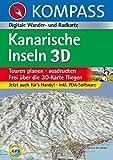 Kanarische Inseln 3D: Digitale Wander- und Radkarte (KOMPASS Digitale Karten, Band 4251) - KOMPASS-Karten GmbH