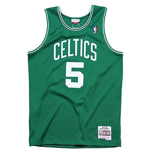 Mitchell & Ness Swingmann Jersey – Boston Celtics Kevin Garnett – NBA – Maglia – Articolo per fan (S)