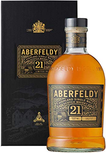 Aberfeldy 21 ans d'âge Highland Single Malt Scotch Whisky...