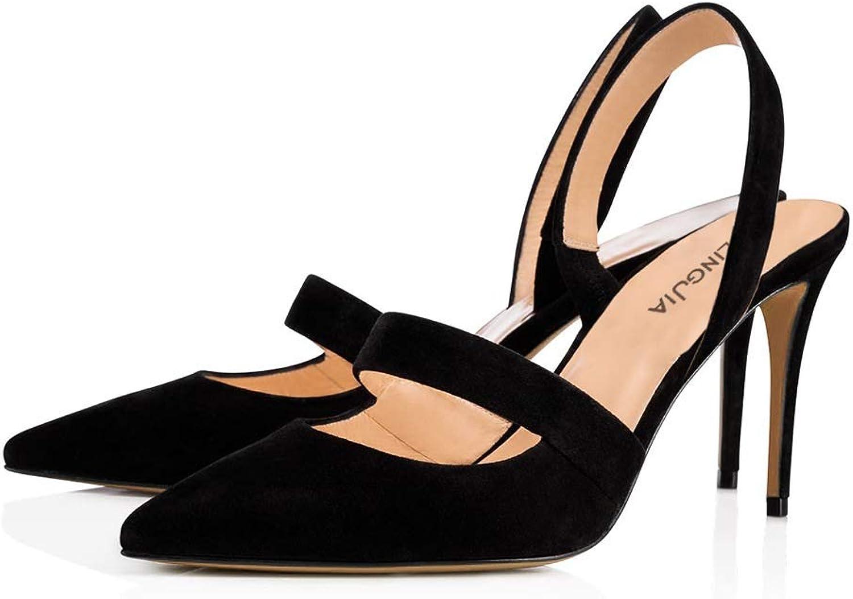 Spitze Schuhe High Heels Dew Single Schuhe Silber Hochzeitsschuhe (Farbe   Schwarz, gre   34)