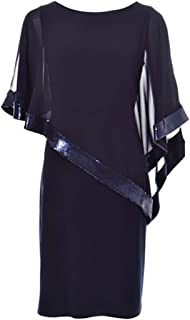 joseph ribkoff blue dress