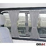 Protección Solar cortina métrica cortinas cortinas Sprinter W906Crafter corta gris