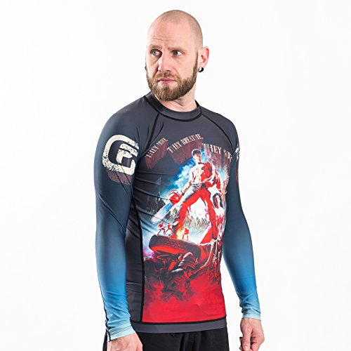 Fusion Fight Gear Army of Darkness Hail to the King Compression Rash Guard