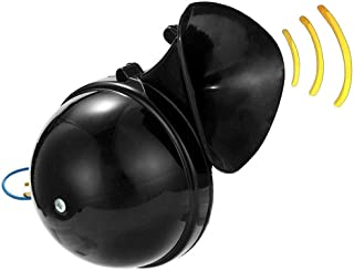 Negro Fydun Electric Snail Horn 110dB Altavoz Universal para 12V Moto Coche