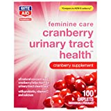 Rite Aid Feminine Care Cranberry Urinary Tract Health - 100 Caplets | Cranberry Supplement