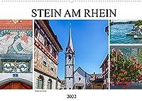 Stein am Rhein - Altstadt mit Charme (Wandkalender 2022 DIN A2 quer): Mittelalterliches Staedtchen am Ende des Bodensees (Monatskalender, 14 Seiten )