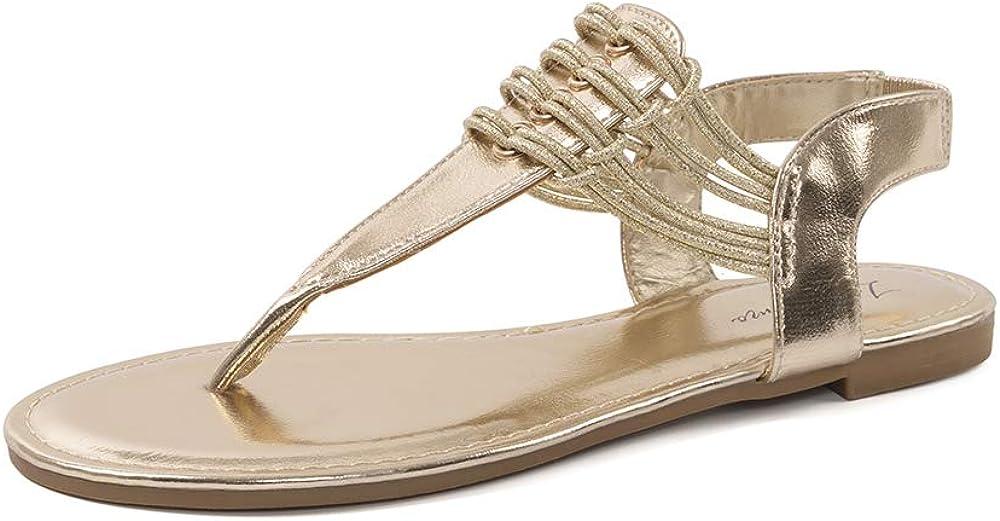 LUFFYMOMO Womens Flat Sandal Summer Thong Sandal