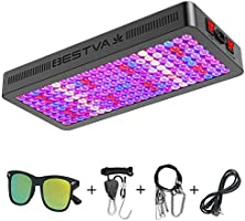 BESTVA DC Series 2000W LED Grow Light Full Spectrum Dual-Chip Growing Lamp for Hydroponic Indoor Plants Veg and Flower...