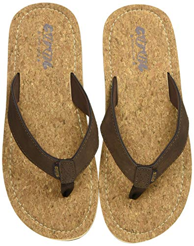 Cool shoe Sin, Chanclas Hombre, Marron Cork 00918