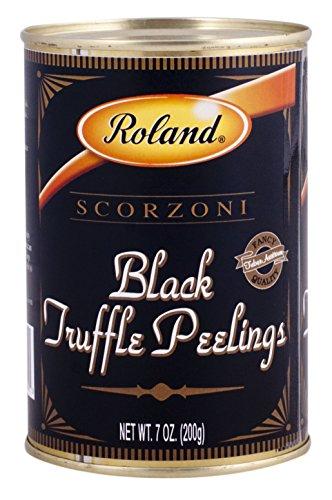 Roland Foods Black Truffle Peelings, 7 Ounce (Best Restaurants Near Pike Place Market)