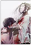 chuanglanja Lienzo Y Arte De Pared PóSter 60 * 90cm Sin Marco Póster de la Muerte de Anime Zabuza y Haku, Arte Decorativo para Pared, Carteles para Sala de Estar, Dormitorio