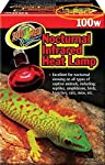 Zoo Med Nocturnal Infrared Heat Lamp 100 Watts - Pack of 3