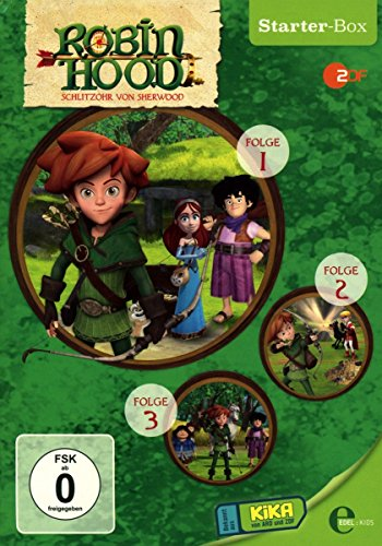Robin Hood: Schlitzohr von Sherwood - Starter-Box [3 DVDs]