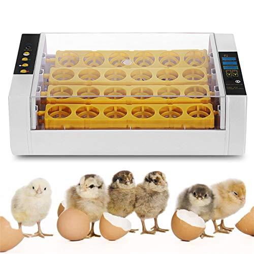 24 Eieren Incubator Automatisch Draaien En Uitkomen, Met Led-Scherm En Temperatuurvochtigheidsregeling Voor Kip, Eend, Kwartel, Vogelincubatietool