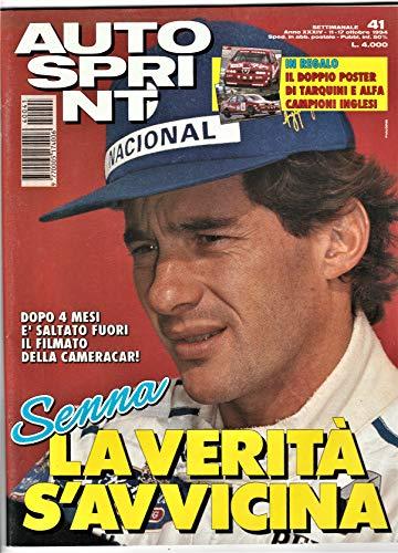 Autosprint 22 Ottobre 1994 NO POSTER, Senna la verità si avvicina dalla cameracar