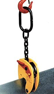 2 tonnellate larghezza: 75 mm-240 mm Morsetto per travi per industria dello spettacolo Tractel Corso colore: Nero