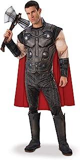 Rubie's Official Avengers Endgame Thor, Deluxe Adult Mens Costume - Size Standard/Medium