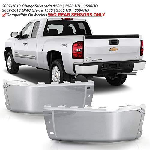 08 silverado chrome bumper cap - 8