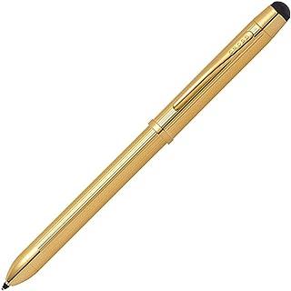 CROSS クロス ボールペン 多機能ペン プレシャス テックスリープラス 23金ゴールドプレート AT0090-12