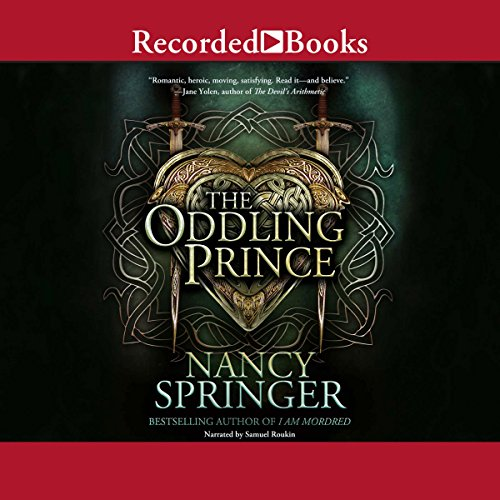 The Oddling Prince audiobook cover art