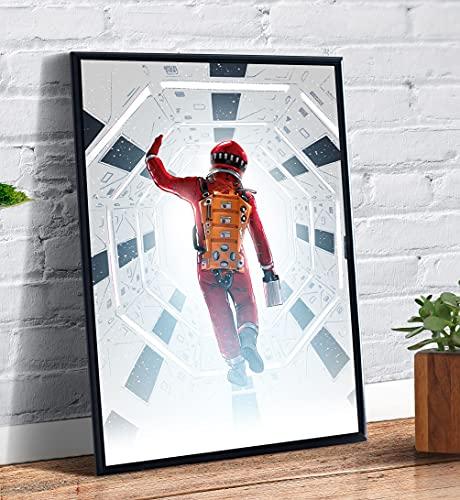 Quadro decorativo emoldurado Filme 2001 Uma Odisseia No Espaço