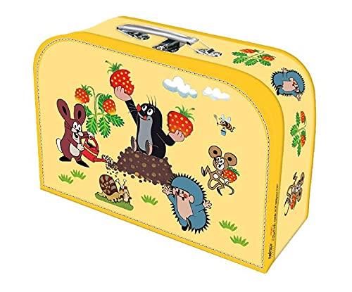 """Kinderkoffer \""""Der kleine Maulwurf\"""" medium: Pappkoffer Reisekoffer Kinder Spielkoffer"""