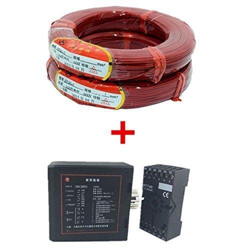 Detector de señal de tráfico inductivo + 50 m/Cable de Bobina de inducción para vehículo