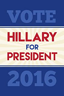 Vote Hillary Clinton President 2016 Tan Navy Red Campaign Cool Wall Decor Art Print Poster 12x18