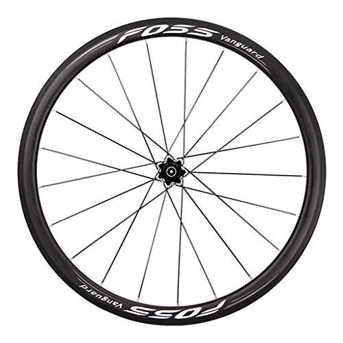 ZHTY Jeu de Roues de vélo de Route pour vélo de 26'27,5' 29', Ensemble de Roues de Frein en V...