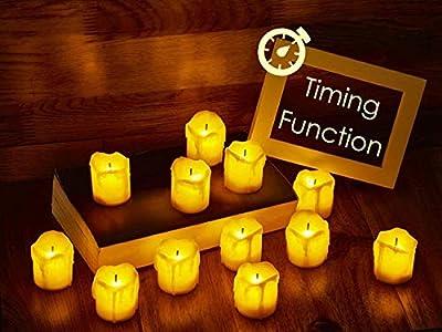 LED Flameless Votive Candles