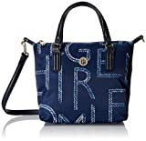 Tommy Hilfiger Poppy Small Tote Rope White/Blue Mix