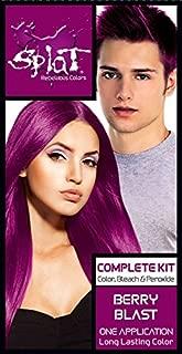 Splat - Semi Perm Hair Color, Berry Blast, Color, Bleach & Peroxide