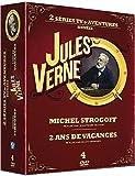 Jules Verne - Coffret : Michel Strogoff + Deux ans de vacances [DVD]
