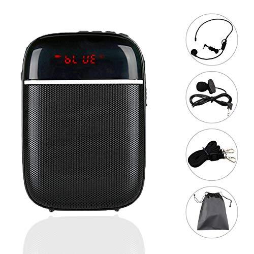 Ivex Amplificador de Voz Portátil con 2 Micrófonos (Solapa y...