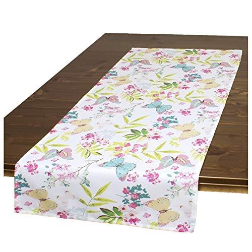 Tischläufer FRÜHLINGSERWACHEN / 40 x 90 cm/Moderner Tischläufer für den Frühling und Sommer