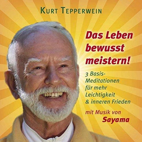 Das Leben bewusst meistern! 3 Basis-Meditationen für mehr Leichtigkeit & inneren Frieden audiobook cover art