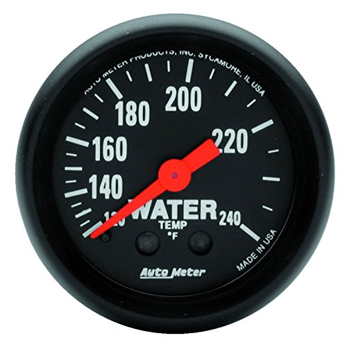 AUTO METER 2607 Z-Series Mechanical Water Temperature Gauge