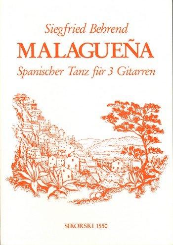 Malaguena: für 3 Gitarren Spanischer Tanz